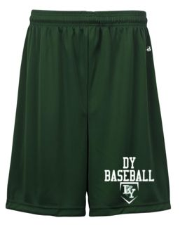 DY HIGH SCHOOL BASEBALL GRAPHITE MESH SHORTS