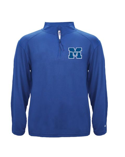 Adult (Mens or Womens)1/4 zip lightweight pullover