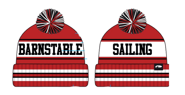 BARNSTABLE SAILING POM POM HAT