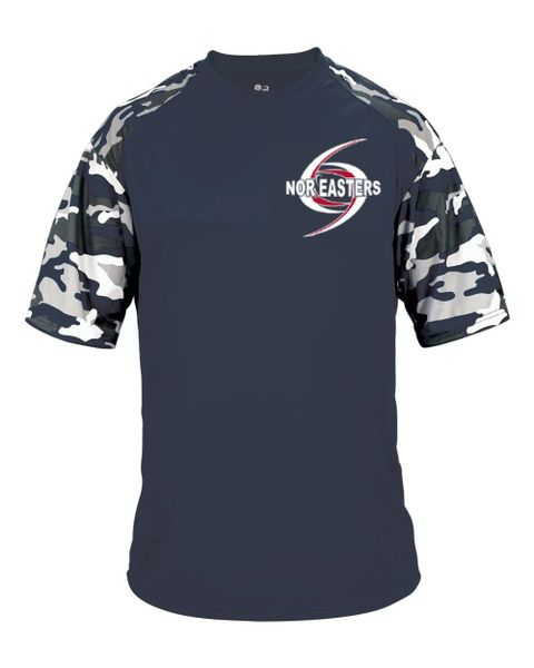 Camo Sleeve Workout T-shirt