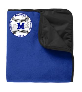 MASHPEE YOUTH BASEBALL BLANKET