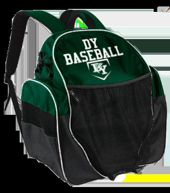 DY Baseball backpack