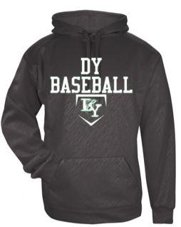DY High School Baseball Hoodie