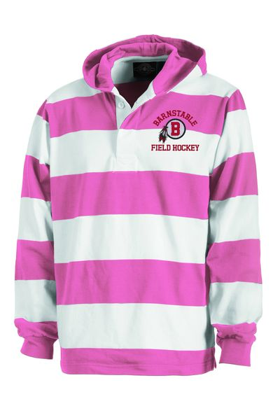 Barnstable Pink Rugby Shirt