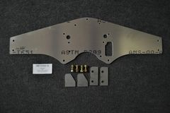 MOTORPLATE KIT, SMALL BLOCK FORD, STOCK TIMING COVER, WITH FUEL, CENTERED