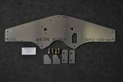 MOTORPLATE KIT, SMALL BLOCK FORD, STOCK TIMING COVER, WITH FUEL, OFFSET