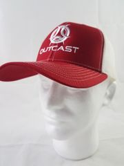 Outcast Trucker Red/ White