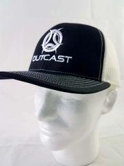 Outcast Trucker Black/ White