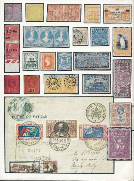 Stanley Gibbons Auctions, London, November 24-25, 1966, Rarities of the  World