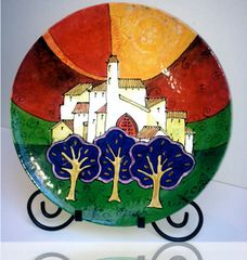 Green Fields - Ceramic - (Sold)