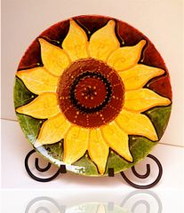 Sunflower - Ceramic