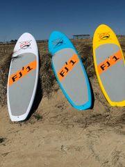 FJ1 Paddleboard - Yellow