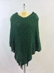Woven Stitched Poncho