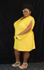Slice Sleeve Dress
