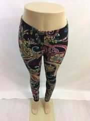 Paisley Leggings - Queen-Size