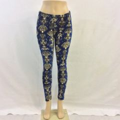 Velvet Patterned Leggings