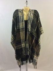 Plaid Cashmere Feel Blanket Scarf Shawl Wrap