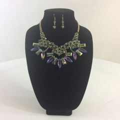 Crystal Fashion Necklace and Earrings Set