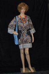 Multicolor Tribal Print Dress