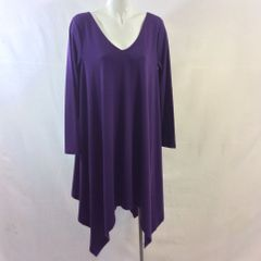 Long Sleeves Batwing Dress