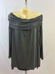 Long Sleeve Off the Shoulder Blouse