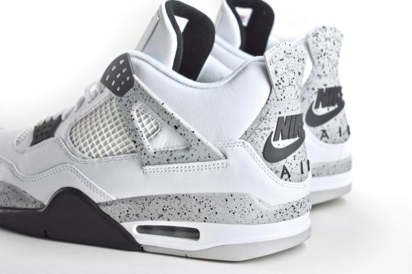super popular 3cc66 9c599 Nike Air Jordan IV White Cement