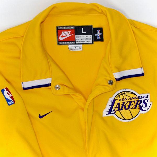 d544a4fd3 Nike Authentic LA Lakers Warm-Up Shooting Jacket  Kobe!