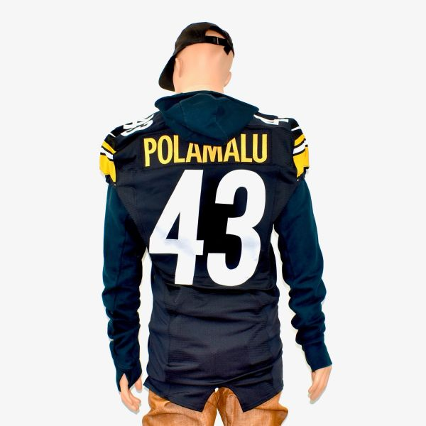 low priced dd937 3dfc8 2012 Nike Authentic Game Issued Troy Polamalu Steelers Jersey