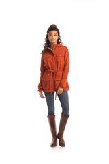 Synergy Organic Cotton Anorak Jacket (Orange)
