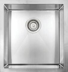 "Vogt Kitchen Sink Vienna 18 Guage R8 (17""x17""x10"") Undermount"