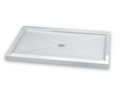 Fleurco ABF In-Line Acrylic Shower Base with Center Drain