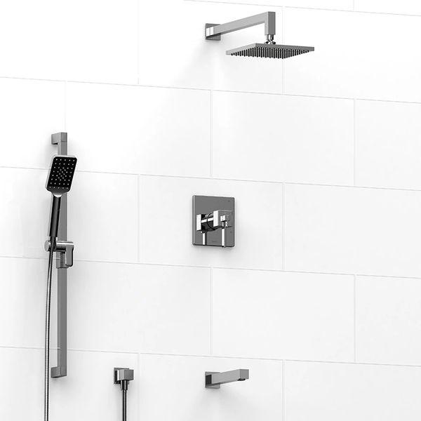 Riobel Mizo Shower 3 Way System (shower head, rail, spout ...