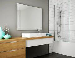 Bathroom Mirror - Fleurco Luna Sunrize lighted