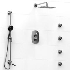 Riobel Venty Shower System With Body Jets