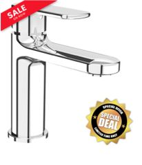 "Rubi ""Myrto"" Single Lever Washbasin in Chrome"