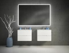 Bathroom Mirror - Fleurco Luna Halo lighted