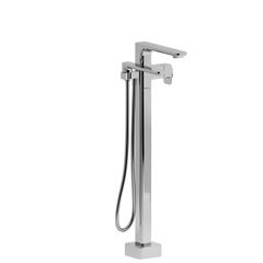 EQUINOX - EQ39C,2-WAY TYPE T (THERMOSTATIC) COAXIAL FLOOR-MOUNT TUB FILLER WITH HAND SHOWER
