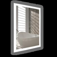 "Bathroom Mirror - WarmlyYours Grace 24""x36"" Backlit LED"