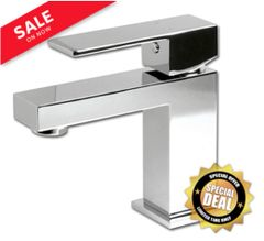 Rubi - Quatro Single Hole Lavatory Faucet (Chrome)