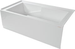 "Sherlic - Quad 5 Apron Bath Tub 60"" x 32"""