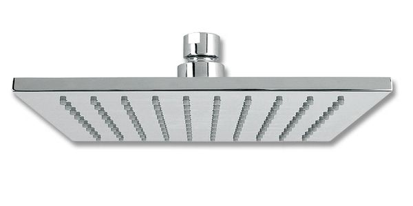Luvia Rubi Slim Square Shower Head Of 12 Chrome Cornerstone