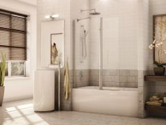 Tub Shiled - Fleurco Banyo Siena Semi Frameless