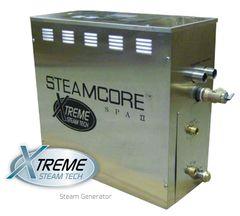 STEAM SHOWER GENERATOR - STEAMCORE SPA II (SSII ROUND PACKAGE 7.5KW)