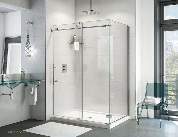 Fleurco K2 60 Shower Door With Return Panel Cornerstone Bath More
