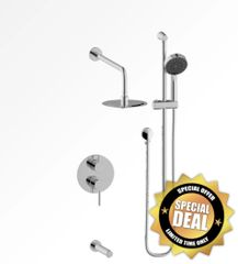 Vogt Bathroom Faucet Worgl 3-Way Pressure Balance Shower System