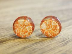 Art Glass No. 26 - stud earrings