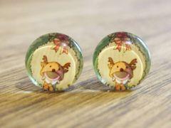 Art Glass No. 3 - stud earrings