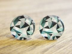 Art Glass No. 40 - stud earrings