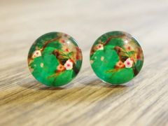 Art Glass No. 35 - stud earrings
