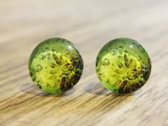 Art Glass No. 14 - stud earrings